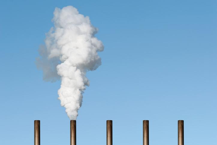pollution chimneys