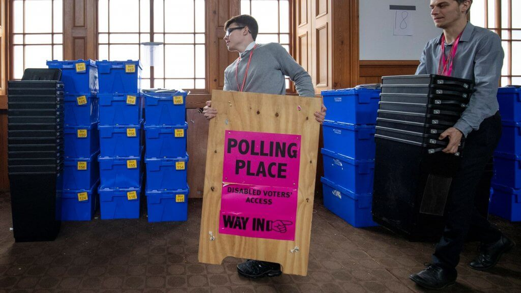 general election polling