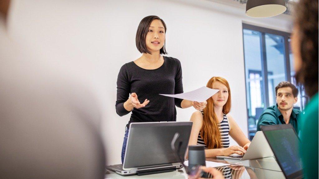 presenting meeting reporting