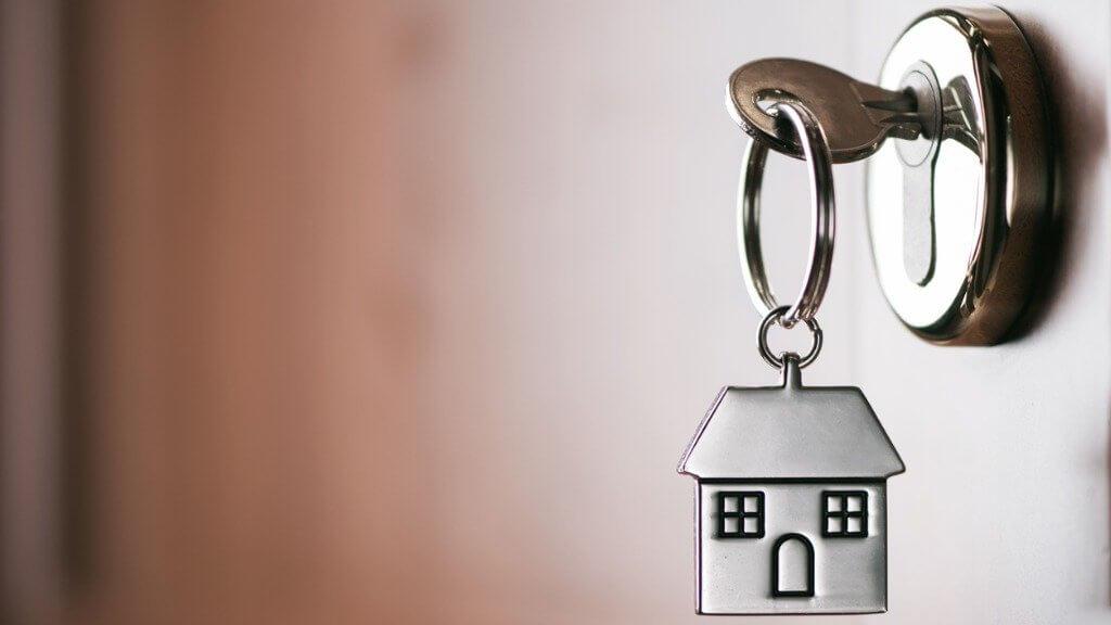 house key home