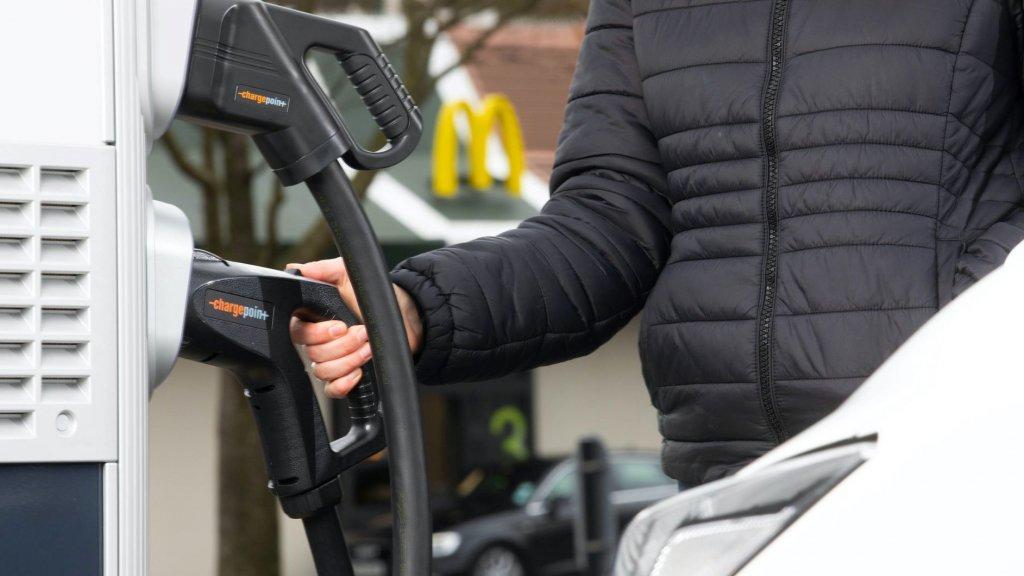 mcDonald's electric car charger