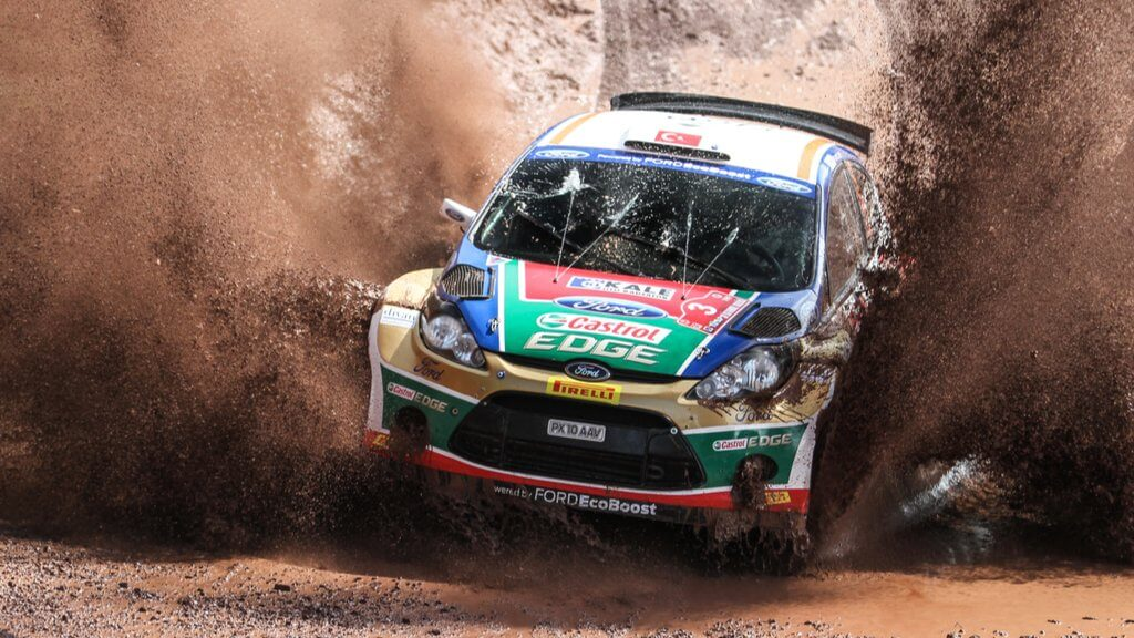 rally driving race
