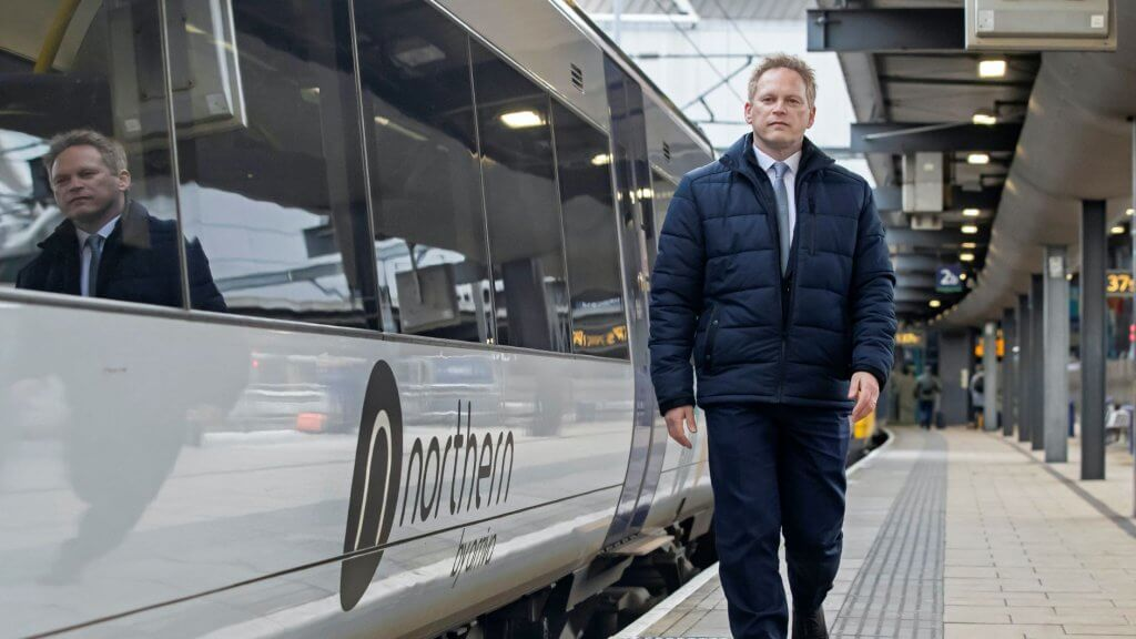 Grant Shapps northen powerhouse