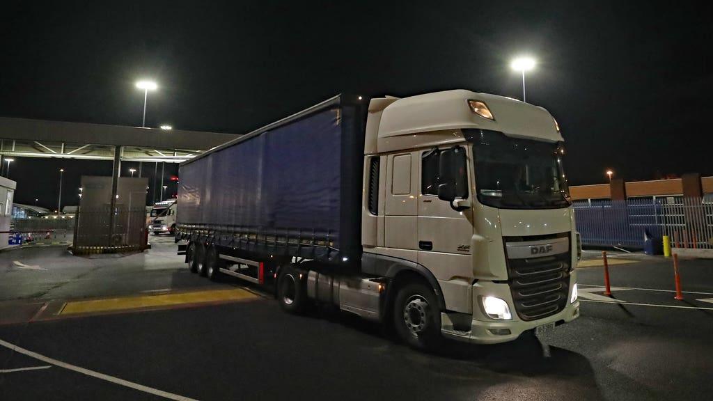 lorry export