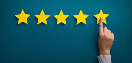 reputation reviews five stars