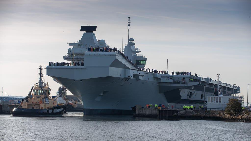 Babock Navy ship
