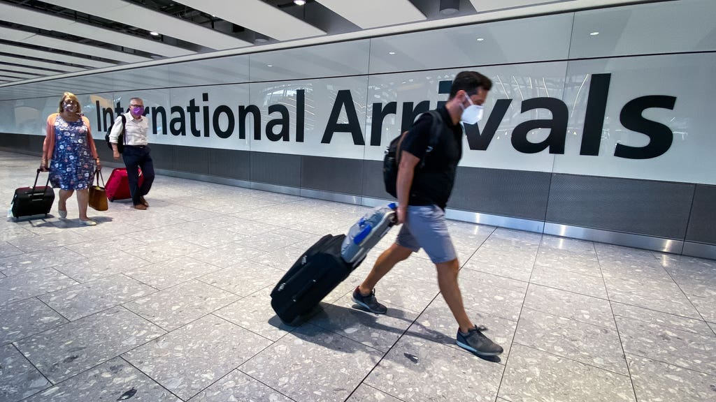 Heathrow airport travel