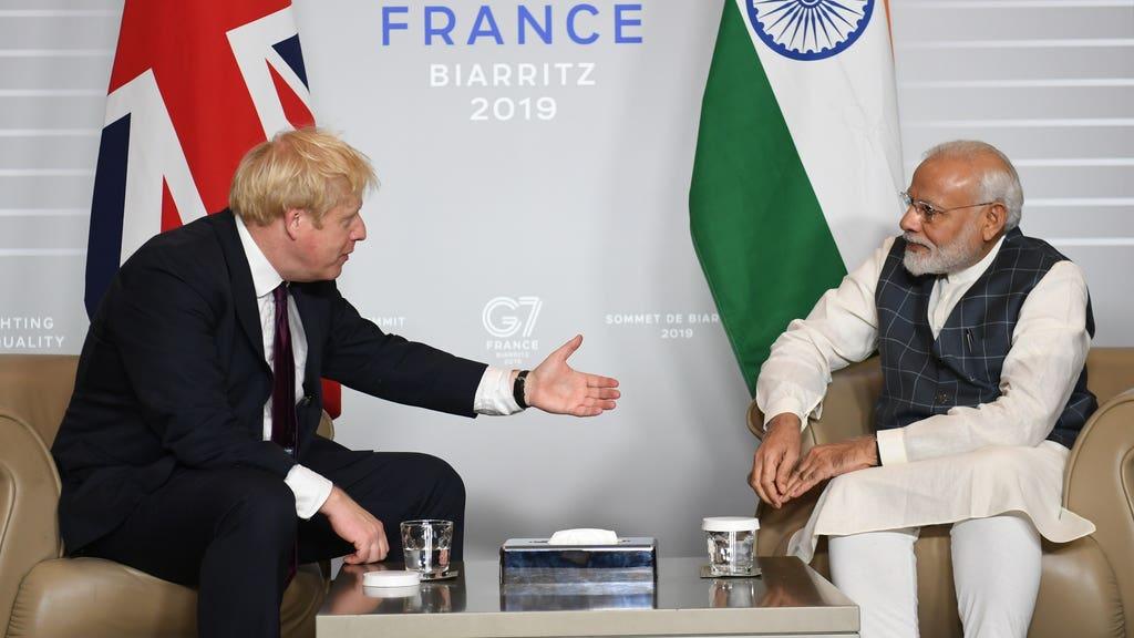 Boris Modi UK India