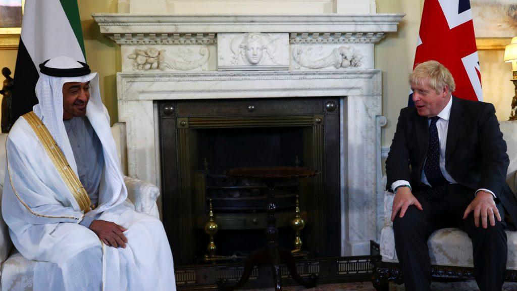 Boris Johnson meets the Crown Prince of Abu Dhabi